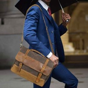 Top 15 Best Leather Messenger Bags for Men in 2019