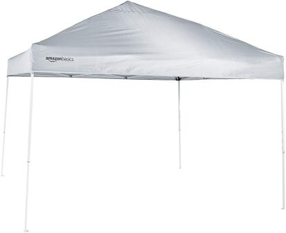 AmazonBasics Pop-Up Canopy Tent - 10' x 10'