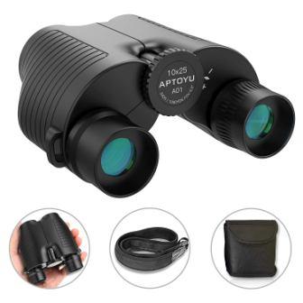Aptoyu 10×25 Compact Binoculars for AdultsKids