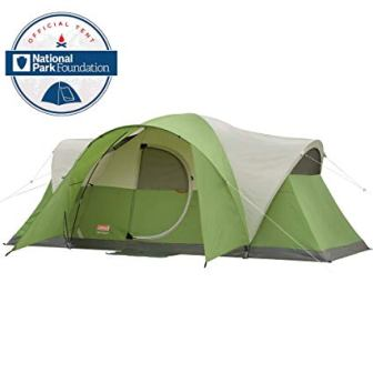 Coleman 8-Person Tent for Camping | Elite Montana Tent with Easy Setup (Top Pick)
