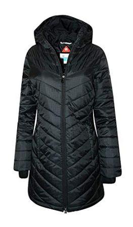 Columbia Women's Morning Light II Omni Heat Long Jacket