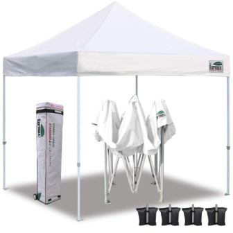 Eurmax Ez Pop Up Canopy Tent Commercial Instant Shelter