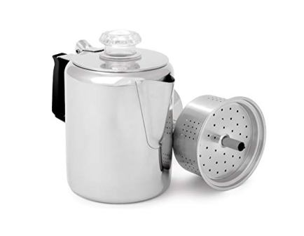 GSI Glacier Stainless Coffee Perk Cup