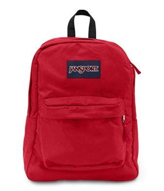 JanSport Super Break Backpack – Classic, Ultralight