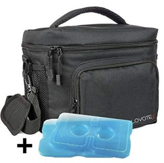 Lovotex Large Insulated Lunch Bag Cooler Tote