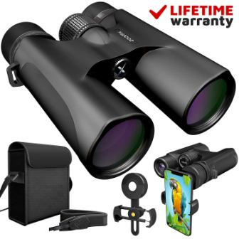 ZoomX 10×42 Binoculars for Adults