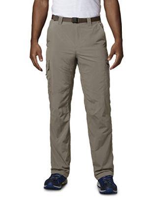 Columbia Men's Silver Ridge Cargo Sun Pant, Moisture Wicking