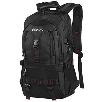 EletecPro Unisex 17.3 Inch Laptop Backpack