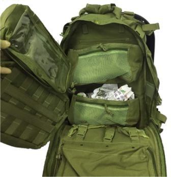 Everyday Deluxe Carry Huge Military Corpsman Medic Hospital Tactical Backpack from Explorer
