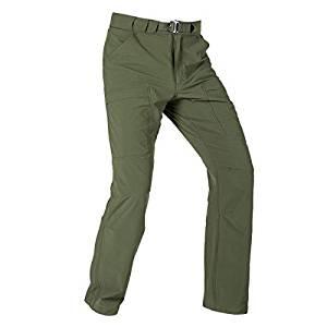 FREE SOLDIER Outdoor Men's Lightweight Waterproof Quick Dry Tactical Pants