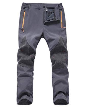 Gash Hao Mens Snow Ski Waterproof Softshell Pants