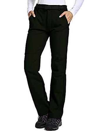 Jessie Kidden Women's Outdoor Fleece-Lined Soft Shell Pants