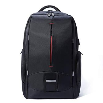KALIDI 17.3″ Gaming Laptop Backpack with External USB Charging Port