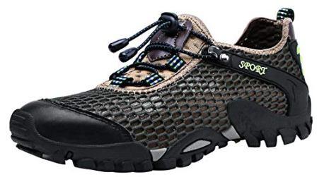 LOUECHY Men's Ponrea Mesh Hiking Shoes
