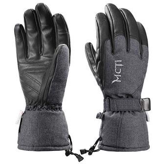 MCTi Ski Gloves Winter Waterproof Snowboard Cold Weather Gloves