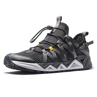 RAX Men's Quick-Dry, Slip-Resistant Aqua Water Hiking Shoes