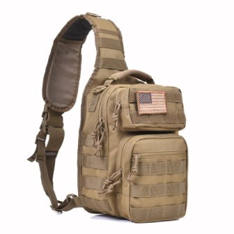 Tactical Sling Bag Pack Military Rover Shoulder Sling Backpack from REEBOW TACTICAL