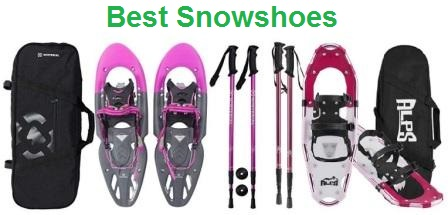 ALPS Adult All Terrian Snowshoes for Men,Women,Youth with Carrying Tote Bag 30
