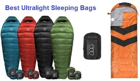 Top 15 Best Ultralight Sleeping Bags In