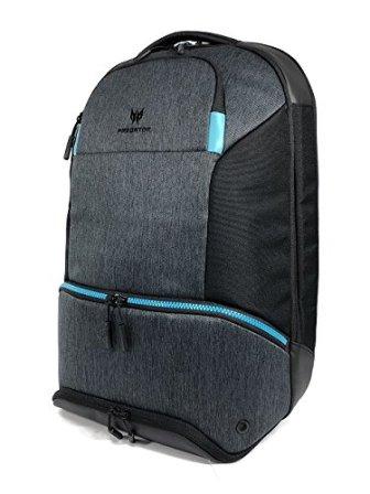 Acer Predator Gaming Hybrid Backpack – for All 15.6″ Gaming Laptops, Travel Backpack, Multiple Pockets