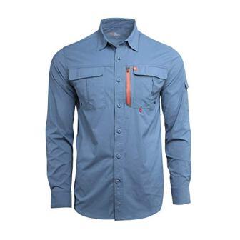 American Outdoorsman Men's Long-Sleeve Fishing Shirt