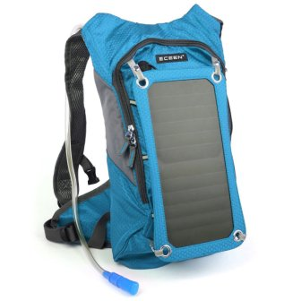 ECEEN Hiking Backpack with Solar Panels