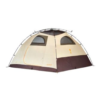 Eureka! Sunrise EX 8-Person, 3-Season Waterproof Camping Tent, CementJavaOrange (20 Pounds 9 Ounces)