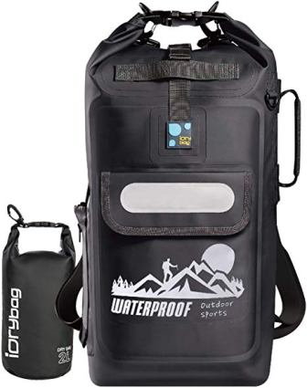 90c98bd20 Besides the waterproof exterior of the backpack, the seams and closures are  also designed to be waterproof and reinforce the ...