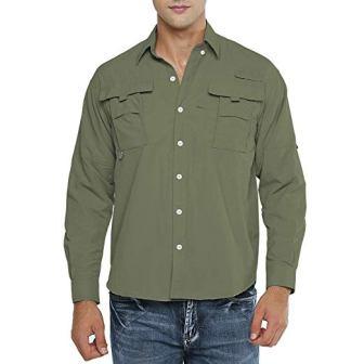 Jessie Kidden Men's Short Sleeve Fishing Shirts