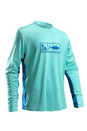 Koofin Men's Performance Vented Fishing Shirt
