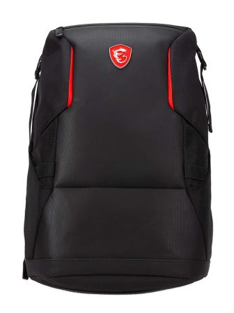 MSI Urban Raider Gaming Laptop Backpack, Quick Access, Padded Mesh, Lightweight Polyester Exterior
