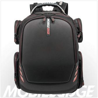 Mobile Edge Core Gaming Laptop Backpack, Molded Front Panel, 17 – 18 Inch, External USB 3.0 Quick-Charge Port