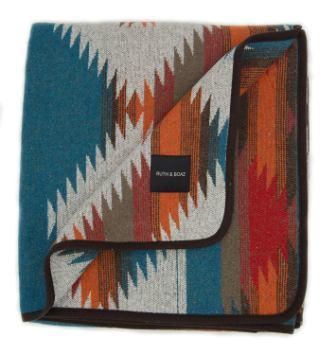 RUTH & BOAZ Outdoor Wool Blend Blanket