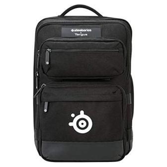Targus Steelseries Gaming Backpack for 17-Inch Laptops, Black (TSB941BT)