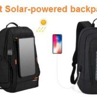 Top 10 Best Solar-powered backpacks In 2019