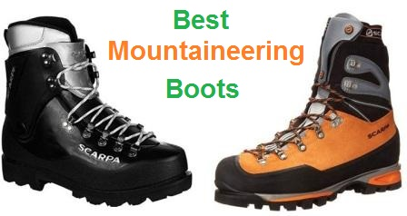 74e3b8dca90 Top 15 Best Mountaineering Boots in 2019 | Travel Gear Zone
