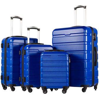 COOLIFE 3-piece Luggage Set