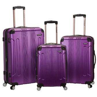 Rockland 3pc Suitcase