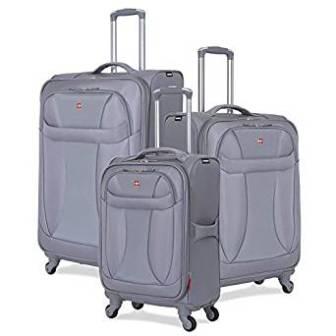 Swiss Gear Three Piece Suitcase Set
