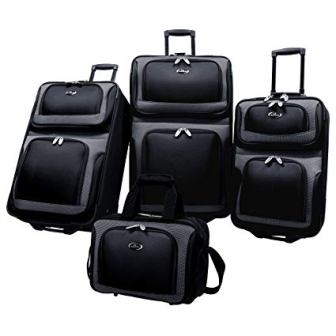 U.S. Traveler New Yorker Rolling Luggage Suitcase