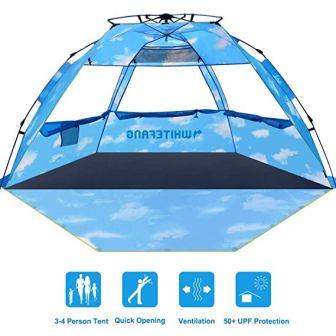 WhiteFang Pop-up Beach Tent