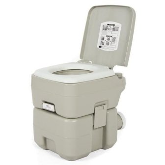 Best Choice Products Camping Portable Toilet