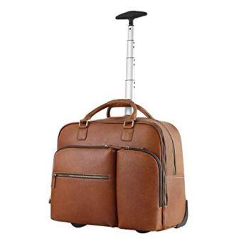Leathario Leather Duffle Bag Suitcase