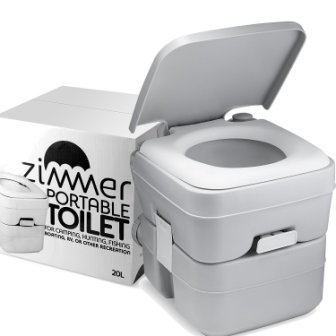 Zimmer Portable Toilet