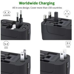 Top 15 Best Travel Power Adapters in 2019 - Complete Guide