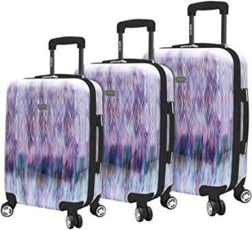 3 Piece Diamond Luggage Set