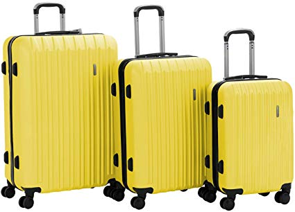 3 Pieces ABS Luggage Sets- Murtisol