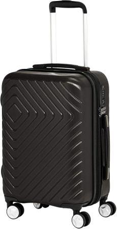 AmazonBasics Geometric Suitcase Spinner