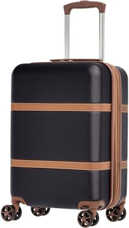 AmazonBasics Vienna Luggage Suitcase Spinner