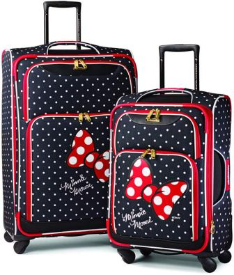 American Tourister Disney Softside Spinner Luggage Set
